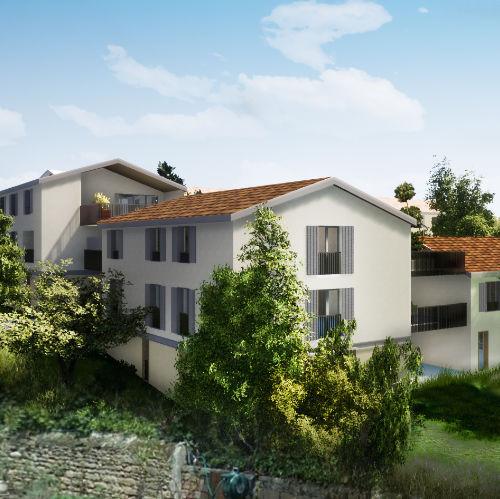 vue 3D promotion résidentiel Liergues