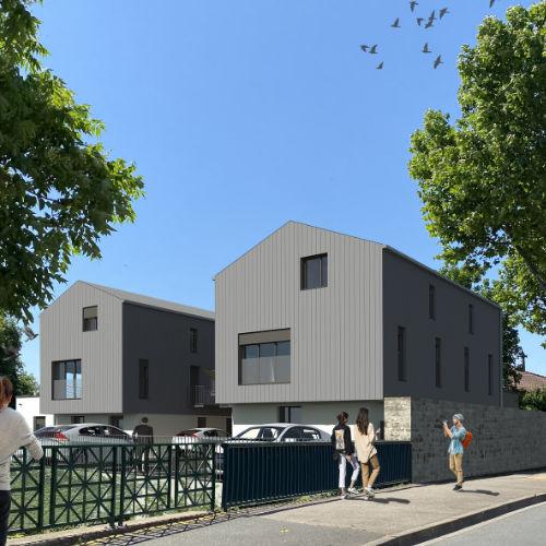 visuel 3D immeubles logements promotion résidentiel