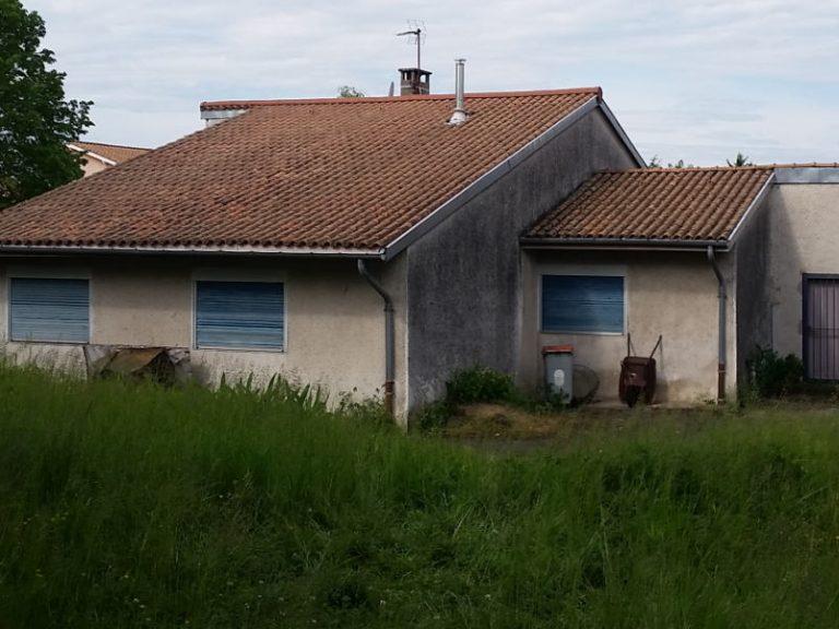 photo maison individuelle à Sathonay avant rénovation