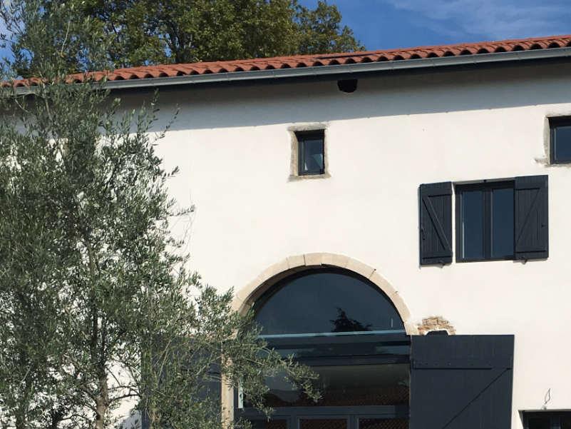 photo d'une façade après réhabilitation à Genay