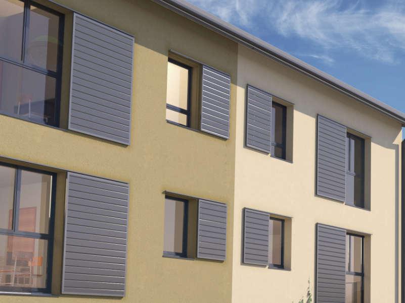 vue 3D architecte maisons jumelles à Genay