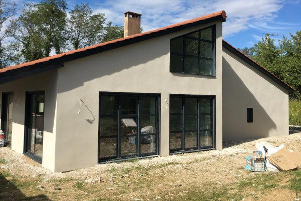 photo d'une maison individuelle à Sathonay après rénovation