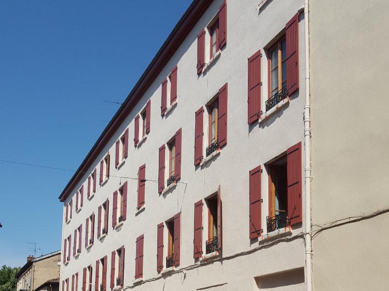 photo d'immeubles Villefranche sur Saône après réhabilitation
