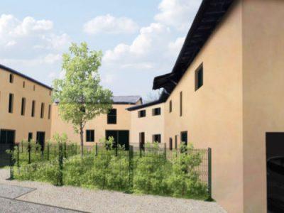 visuel 3D projet promotion résidentiel Parcieux