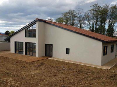 photo maison individuelle à Sathonay après rénovation