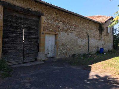 photo d'une ferme à Arnas avant réhabilitation promoteur résidentiel