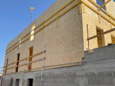 immeubles villefranche sur saône ossature bois chantier