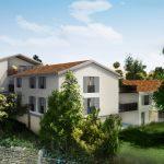 Visuel 3D promoteur résidentiel petits immeubles Liergues Christophe Cochet Specifiq Immobilier